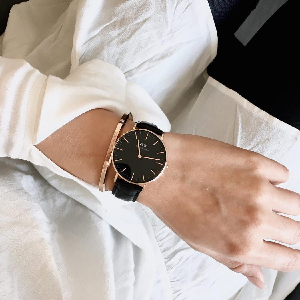 New armcandy by danielwellington love the new all black watches!hellip