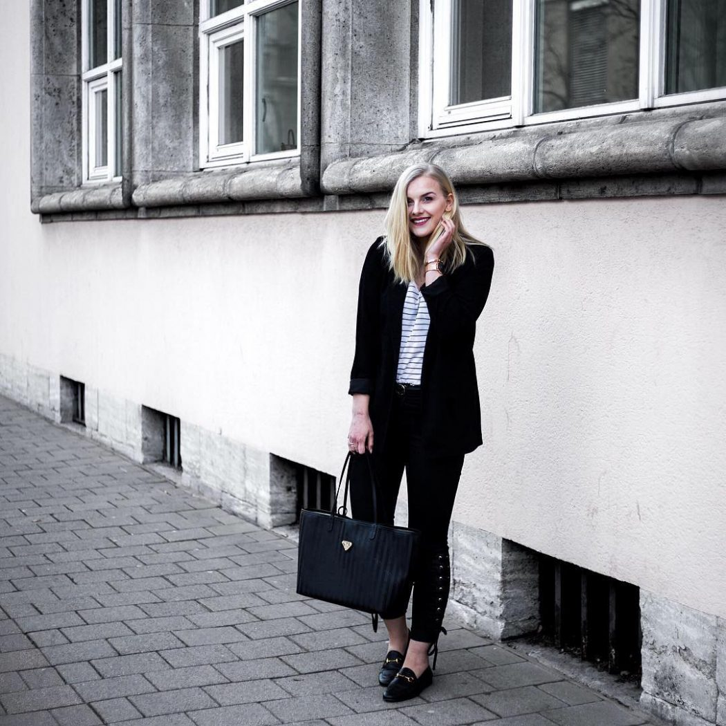 ootd with my new shopper from the VINERUS collection byhellip