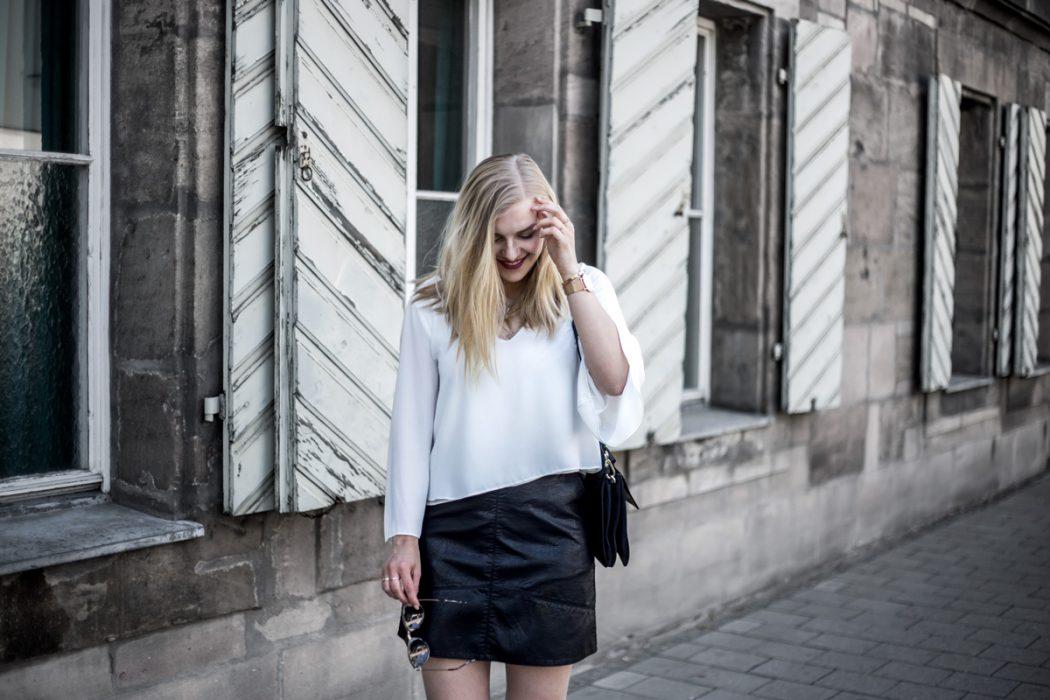 satin ootd blogger modeblog Chloe Faye