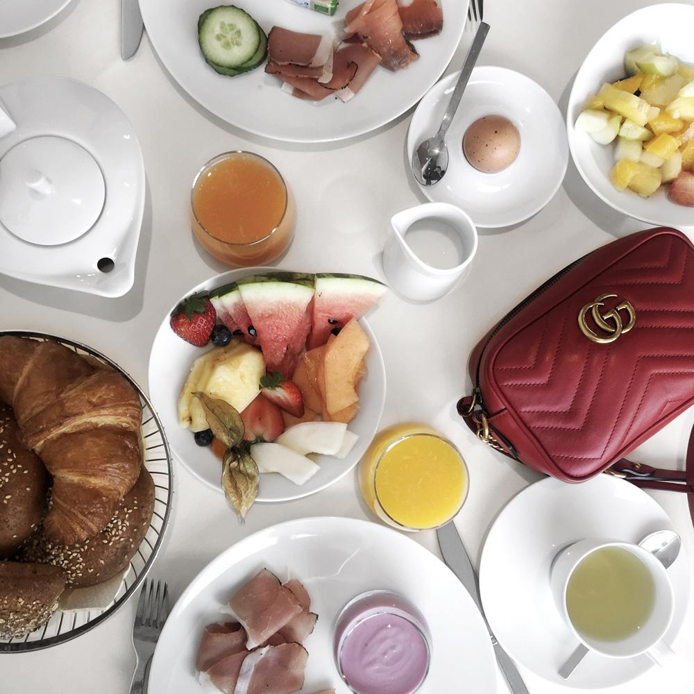 breakfast healthy inspiration croissant goals blogger