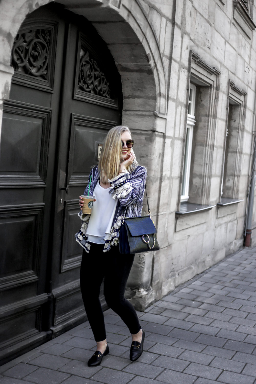 boho kimono ootd street style chloe blogger outfit