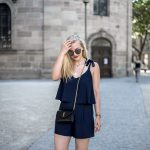Jumpsuit Streetstyle Blogger Erlangen blonde