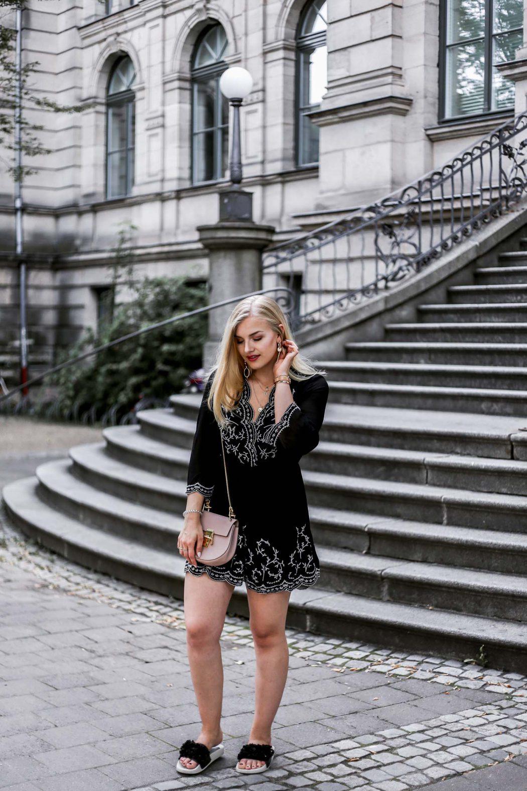 boho ootd streetstyle fashion blogger chloe drew