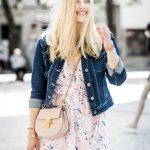 volant dress flower chloe drew ootd blogger Eva Jasmin