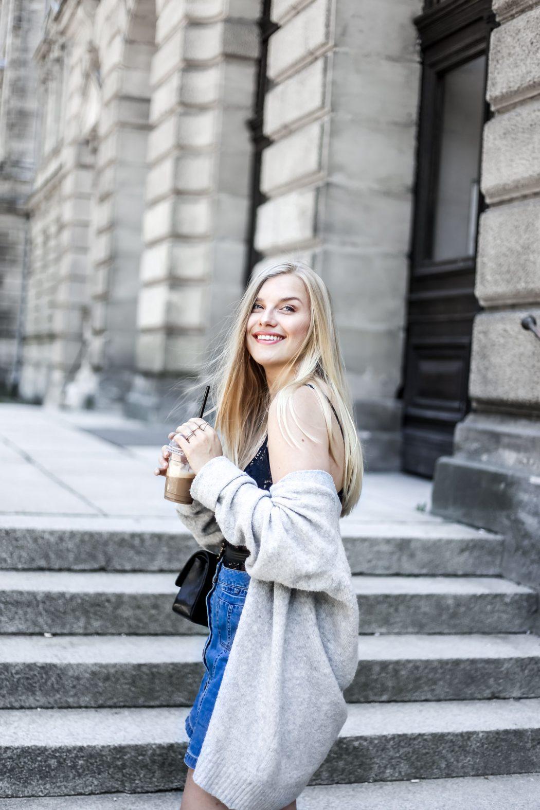 Eva Jasmin Blogger Streetstyle Lingerie Chanel ootd Gucci trend